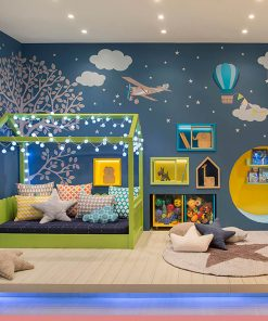MY15 - 90x190 cm Çatılı Montessori Yatak