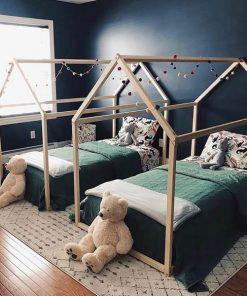 MY39 - 90X140 cm Çatılı Montessori Yatak