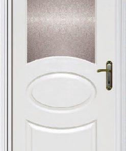 KPAPK13 Amerikan Panel Kapı Cam Yeri Açılması, Çıtası ve Şeffaf Cam Takılması