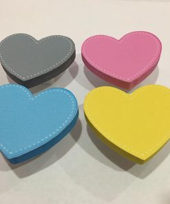 Kalp Motifli Bebek Kulp Modelleri