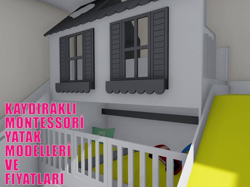 Kaydıraklı Montessori Yatak Modelleri Ve Fiyatları