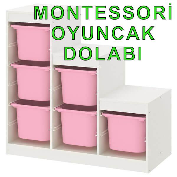 Montessori Oyuncak Dolabı