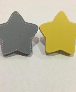Yıldız Motifli Bebek Kulp Modelleri