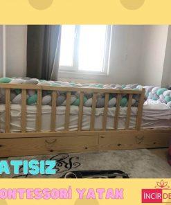 MY106 - 100x200 cm Çatısız Montessori Yatak